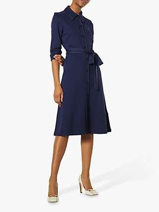 L.K.Bennett Mary Midi Dress, Midnight