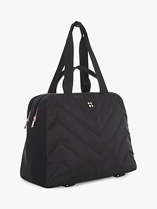 Sweaty Betty Icon Luxe Kit Bag, Black