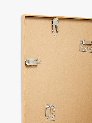 Buy John Lewis & Partners Aluminium Poster Frame & Mount, Oak Effect, A4 (21 x 30cm) Online at johnlewis.com
