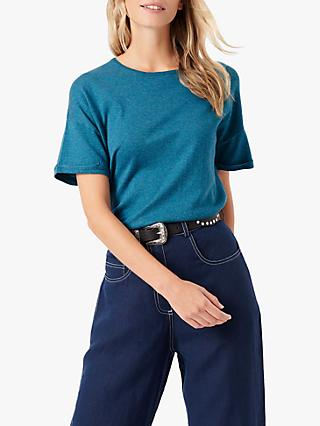 Brora Cotton Slouchy Tee