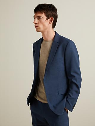 John Lewis & Partners Made with Care Slim Fit Suit Jacket, Airforce
