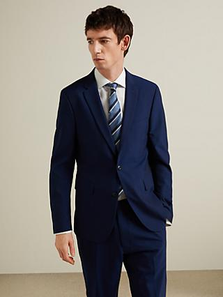 John Lewis & Partners Made with Care Slim Fit Suit Jacket, Navy