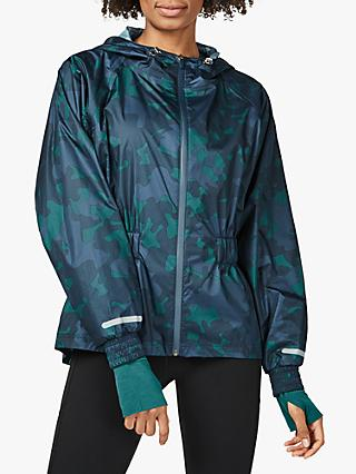 Sweaty Betty Storm Seeker Jacket, June Bug Camouflage