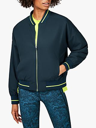 Fearne Cotton x Sweaty Betty Game Changer Jacket, Beetle Blue Block