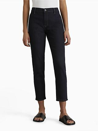 Jigsaw Paris Slim Cut High Rise Ankle Graze Jeans, Indigo