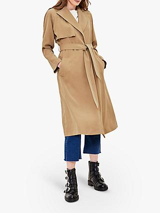 Oasis Wrap Duster Coat, Neutral
