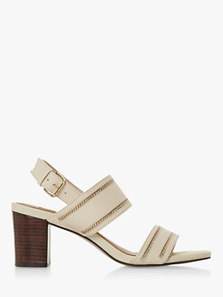 Dune Joylne Leather Heeled Sandals