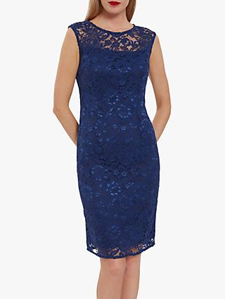 Gina Bacconi Liviana Lace Mini Dress
