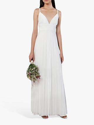 French Connection Farva Bridal Lace Dress