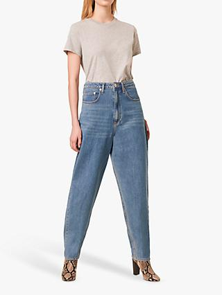 French Connection Reem Oversized Boyfriend Jeans, Mid Vintage
