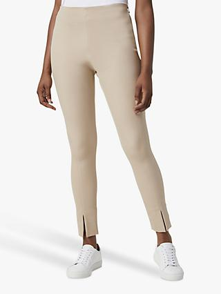 French Connection Sanya Front Split Trousers, Sabbia