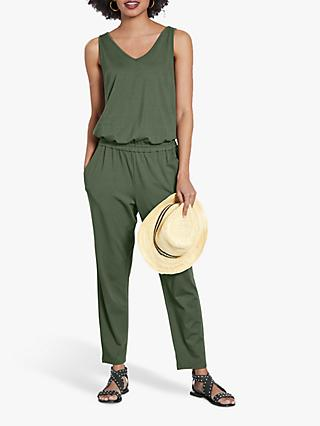 hush Cropped Sleeveless Jumpsuit