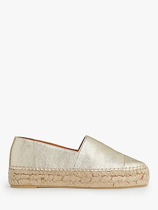 L.K. Bennett Talia Leather Espadrilles