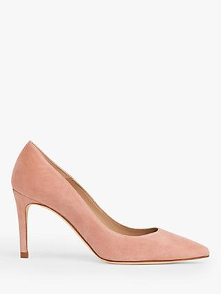 L.K.Bennett Floret Suede Stiletto Heel Court Shoes
