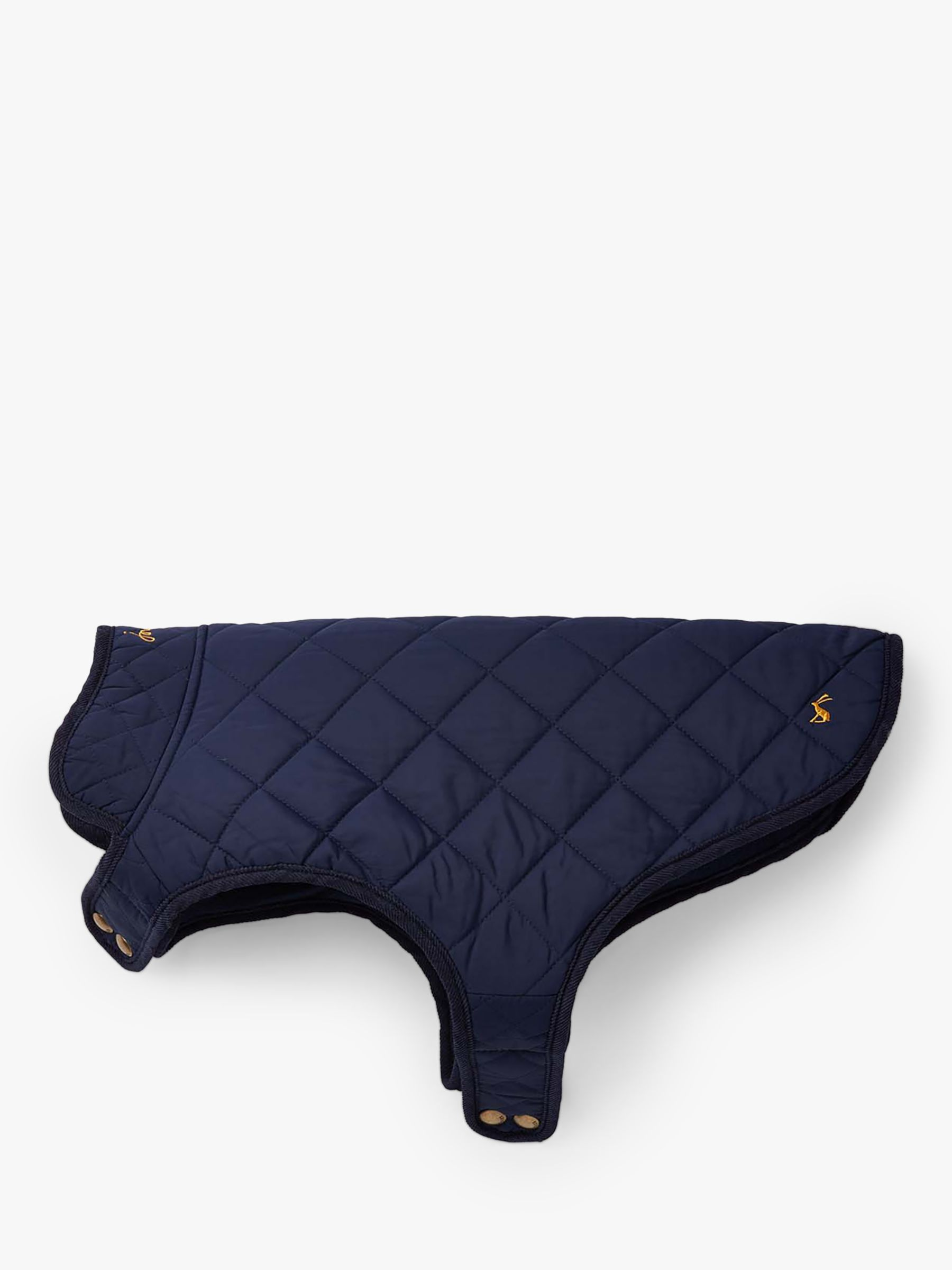 Joules Diamond Quilted Navy Dog Coat