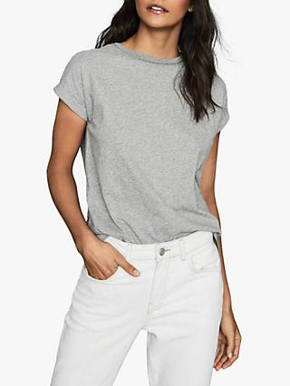 Reiss Tereza Cotton Jersey T-Shirt