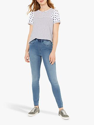 White Stuff Jade Jeggings, Light Denim