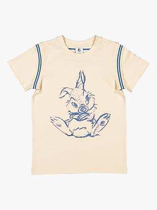 Polarn O. Pyret Children's Disney Thumper T-Shirt, Beige