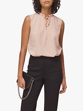 Whistles Selena Silk Top