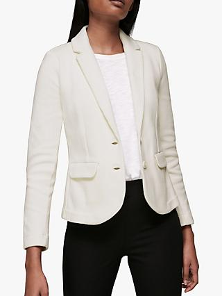 Whistles Slim Jersey Jacket