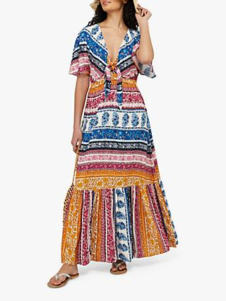 Monsoon Rupert Paisley Maxi Dress, Multi