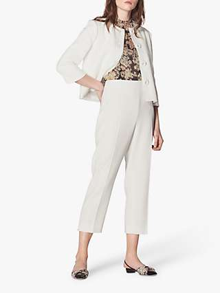 L.K.Bennett Millie Jacket, Cream