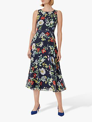 Hobbs Carly Dress, Midnight/Multi