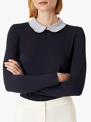 Hobbs Paloma Top, Navy