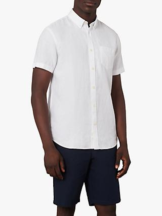 Jaeger Short Sleeve Linen Shirt