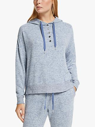 John Lewis & Partners Ellen Hooded Lounge Top