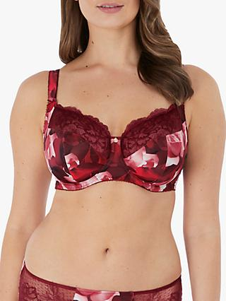 Fantasie Rosemarie Underwired Side Support Bra, Red