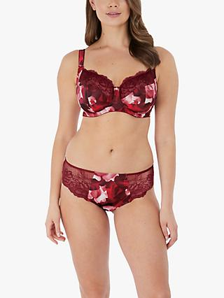 Fantasie Rosemarie Brazilian Briefs, Red