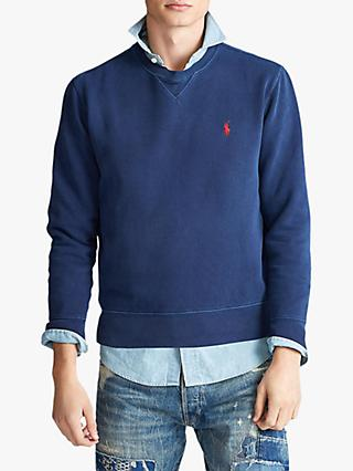 Polo Ralph Lauren Garment Dyed Fleece Sweatshirt