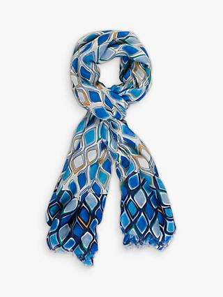 chesca Droplet Print Scarf