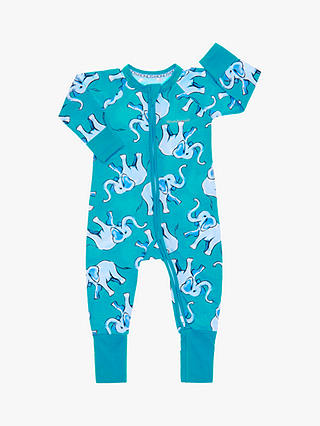 Buy Bonds Baby Pop Elephant Wondersuit, Green, Newborn Online at johnlewis.com