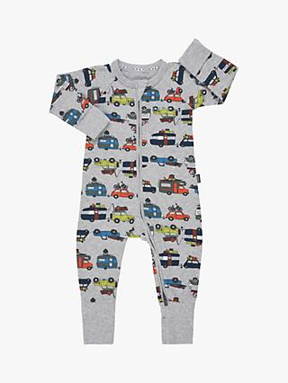 Bonds Baby Highway Wondersuit, Grey Marl
