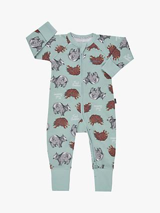 Bonds Baby Trail Buddies Wondersuit, Mint Green