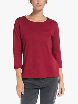 Collection WEEKEND by John Lewis 3/4 Sleeve Slub T-Shirt