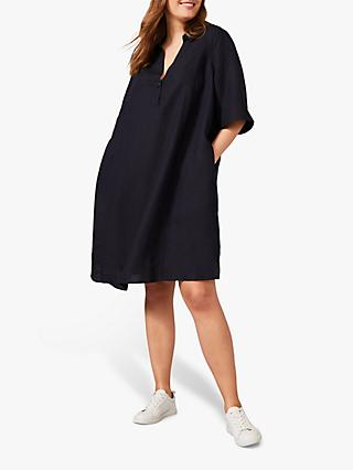 Studio 8 Drew Elbow Length Sleeve Shift Dress, Navy