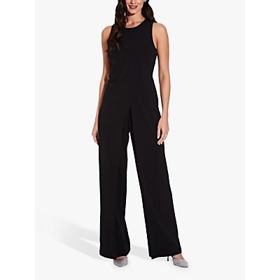 Adrianna Papell Wide Leg Sleeveless Jumpsuit, Black