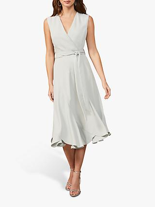 Phase Eight Elena Panelled Sleveless Dress, Peppermint