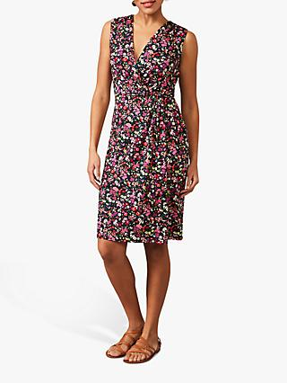 Phase Eight Simone Ditsy Print Mini Dress, Pink/Multi