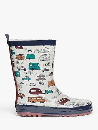 John Lewis & Partners Children's Campervan Wellington Boots