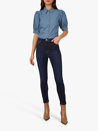 Warehouse High Waisted Skinny Jeans