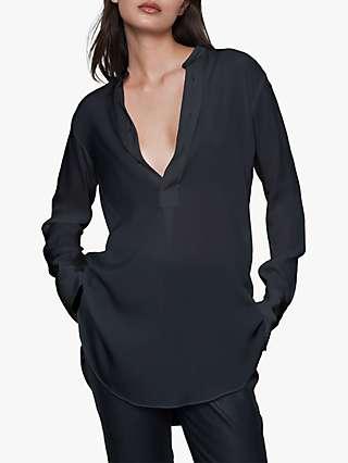 Winser London Silk Tunic Blouse