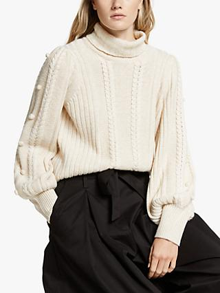 Somerset by Alice Temperley Bobble Knit Jumper