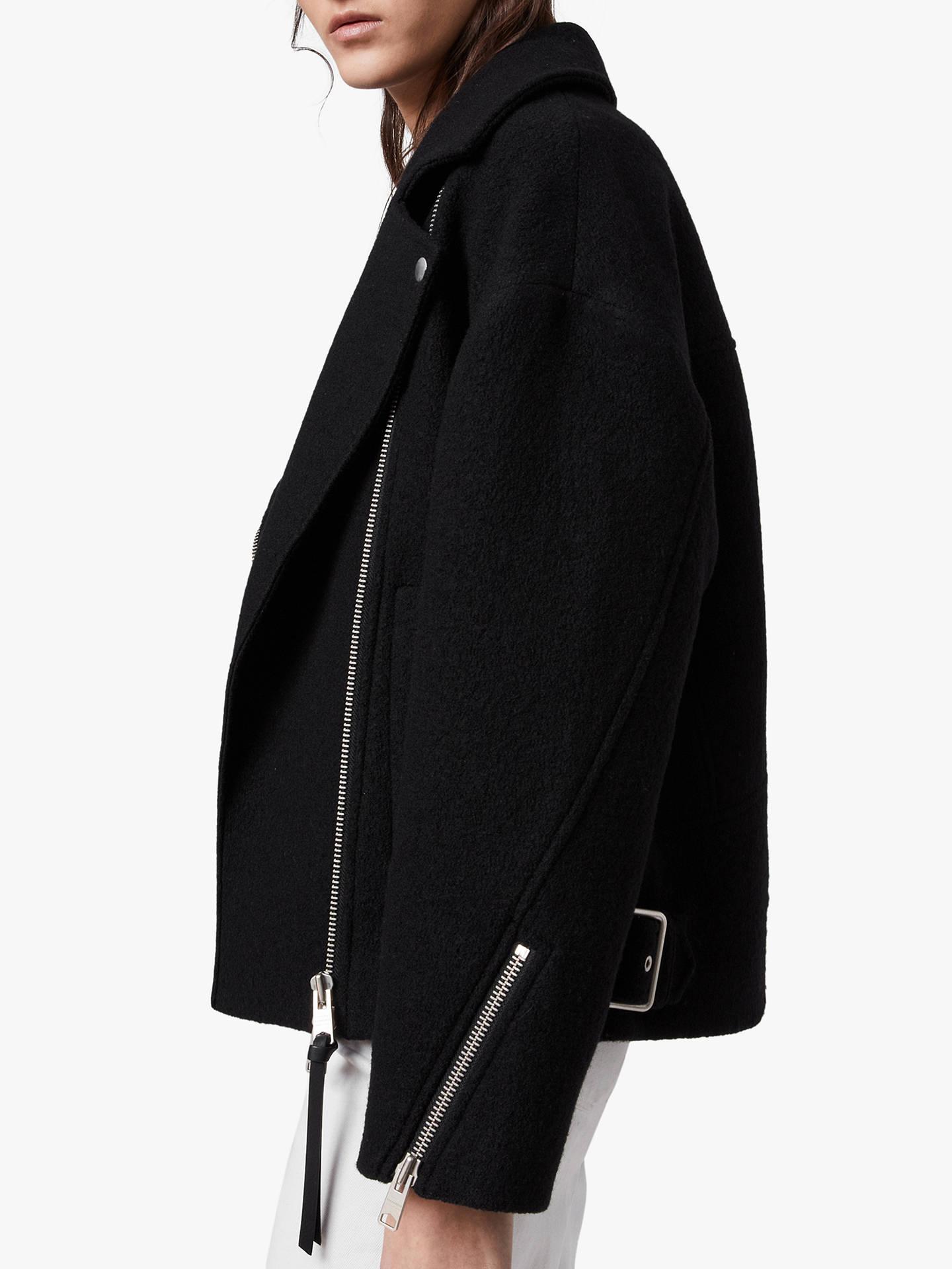 AllSaints Paxton Wool Biker Jacket
