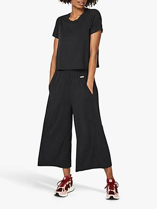 Sweaty Betty Meditate Jumpsuit, Black Marl