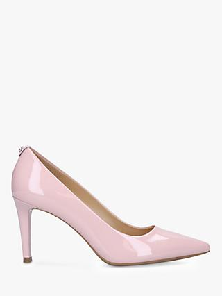 MICHAEL Michael Kors Dorothy Patent Flex Pointed Court Shoes, Pink