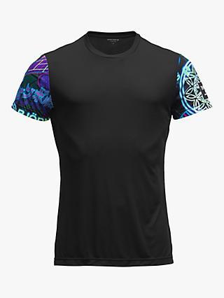 Craft Mens Brilliant 2.0 Running and Training Fitness Workout Outdoor Sport Half Zip Reflective Shirt